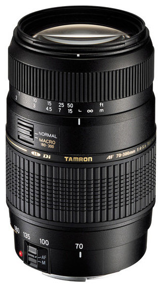 Tamron Объектив Tamron AF 70-300mm f/4-5.6 Di LD MACRO 1:2 (A17) Nikon F