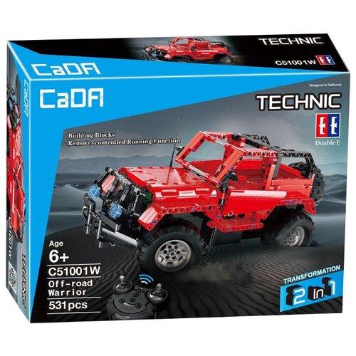 Электромеханический конструктор Double Eagle CaDA Technic C51001W Воин бездорожья
