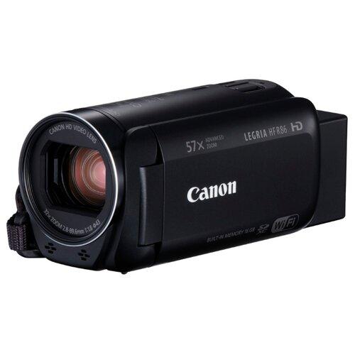 Фото - Видеокамера Canon LEGRIA HF R86 черный видеокамера