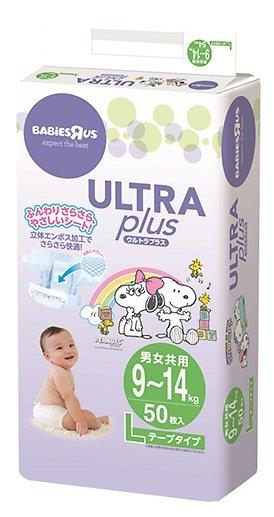 Ultra Plus подгузники Snoopy L (9-14 кг) 50 шт.