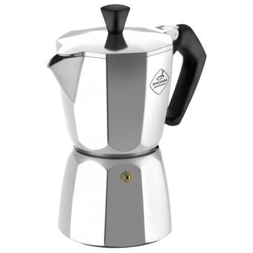 Гейзерная кофеварка Tescoma Paloma на 1 чашку, серебристый