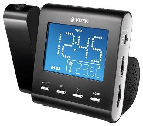 Часы с радиоприемником Vitek VT-3504(BK)