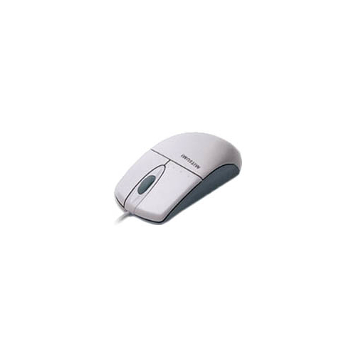 Мышь Mitsumi Optical Wheel Mouse White PS/2