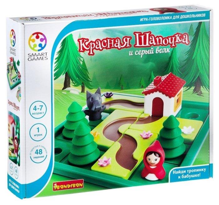 Головоломка BONDIBON Smart Games Красная Шапочка и серый волк (ВВ1879)