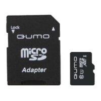Карта памяти Qumo microSDXC class 10 UHS Class 1 + SD adapter