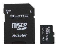 Qumo Карта памяти Qumo microSDXC class 10 UHS Class 1 + SD adapter