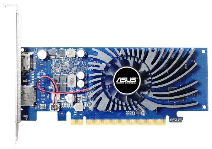 ASUS Видеокарта ASUS GeForce GT 1030 1228Mhz PCI-E 3.0 2048Mb 6008Mhz 64 bit HDMI HDCP