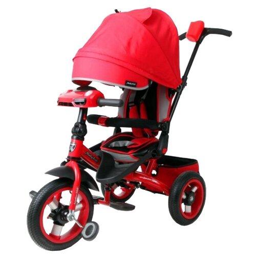 Трехколесный велосипед Moby Kids Leader 360° 12x10 AIR Car красныйТрехколесные велосипеды<br>