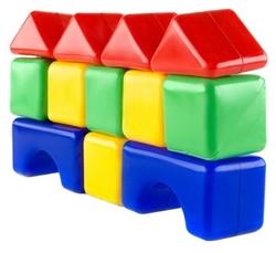 Кубики Пластмастер строительные 14002