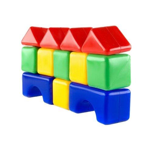 Кубики Пластмастер строительные 14002 кубики пластмастер набор 14047