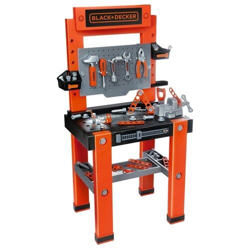 Купить Smoby Мастерская с инструментами Black+Decker (360700), Детские наборы инструментов