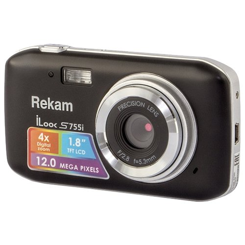 Фотоаппарат Rekam iLook S755i черный