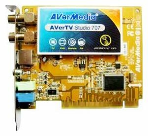 TV-тюнер AVerMedia Technologies AVerTV Studio 707