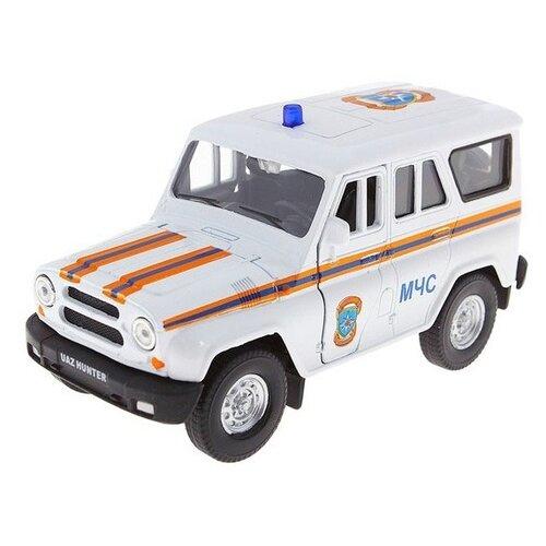 Купить Внедорожник Autotime (Autogrand) УАЗ Хантер МЧС (11455) 1:36 10 см серый, Машинки и техника