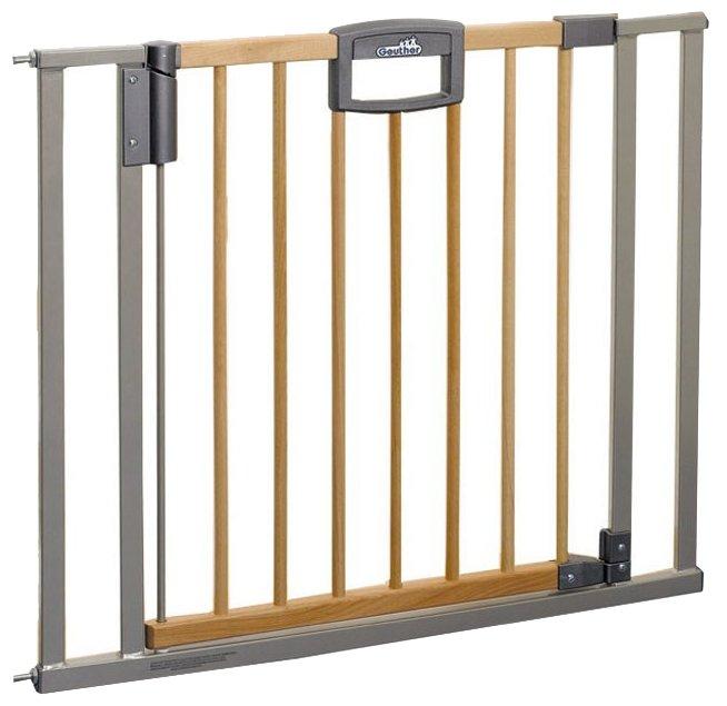 Geuther Ворота безопасности Easy Lock Natural 80.5-88.5 см