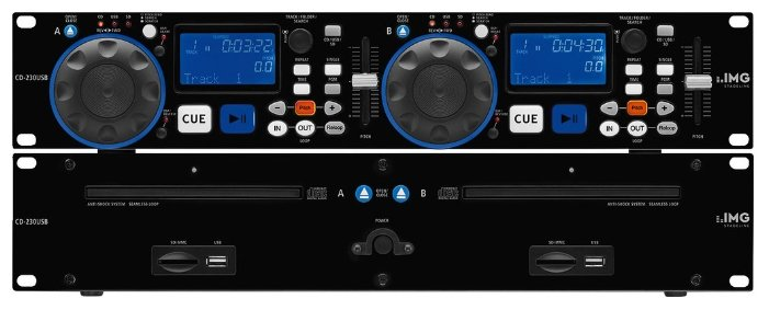IMG Stageline CD-230USB