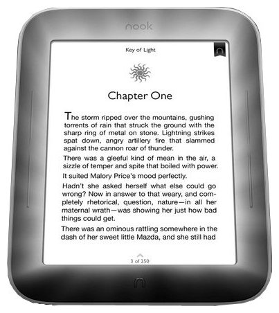 Barnes & Noble Электронная книга Barnes & Noble Nook Simple Touch with GlowLight