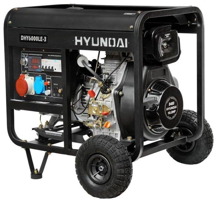 Дизельная электростанция Hyundai DHY-6000 LE-3