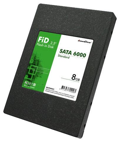 Твердотельный накопитель InnoDisk SATA 6000 8Gb