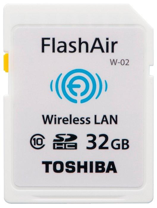 Wi-Fi адаптер Toshiba FlashAir W-02