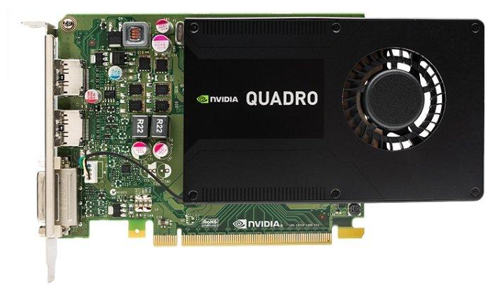 PNY Quadro K2200 PCI-E 2.0 4096Mb 128 bit DVI