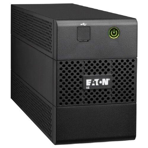 Интерактивный ИБП EATON 5E 850i USB DIN черный