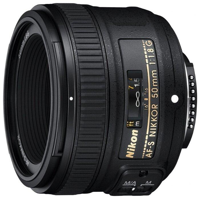 Nikon Объектив Nikon 50mm f/1.8G AF-S Nikkor