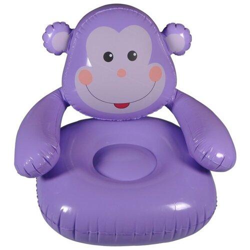 Надувное кресло Bestway Lil Monkey Inflatable Chair сиреневыйНадувная мебель<br>