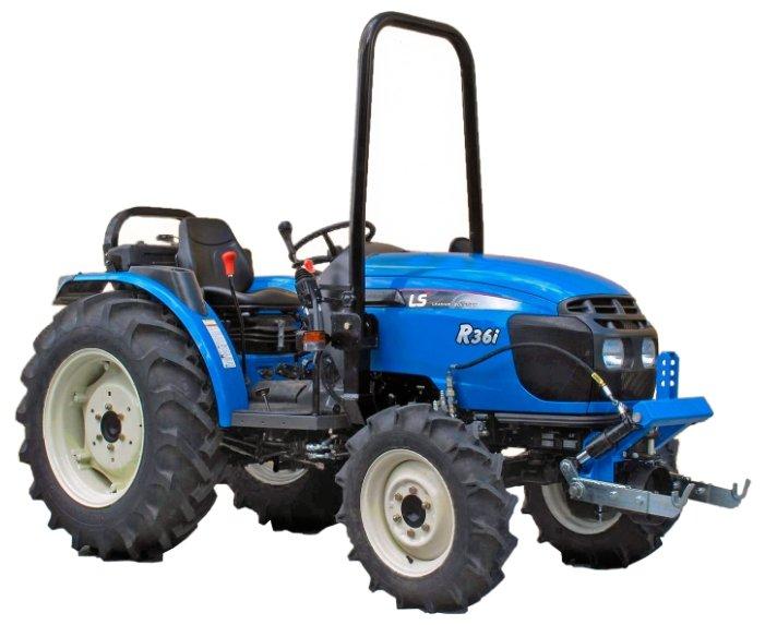 Мини-трактор LS Tractor R36i HST (без кабины)