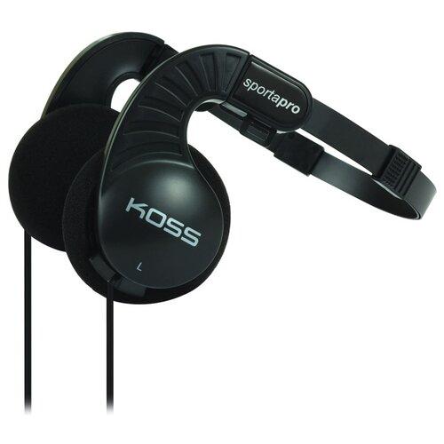 Наушники Koss Sporta Pro черныйНаушники и Bluetooth-гарнитуры<br>