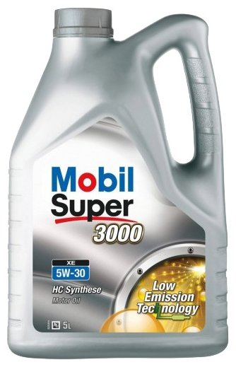 Моторное масло MOBIL Super 3000 XE 5W-30 5 л