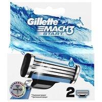Gillette Сменные лезвия  Mach 3 Start