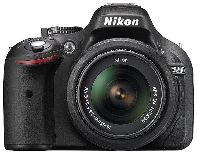 Дисплей Nikon 5200