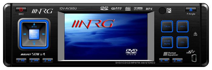 Автомагнитола NRG IDV-AV365U
