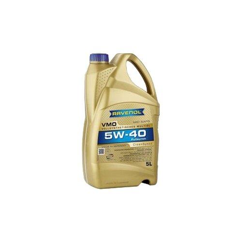 Фото - Синтетическое моторное масло Ravenol VMO SAE 5W-40 5 л 3642 j