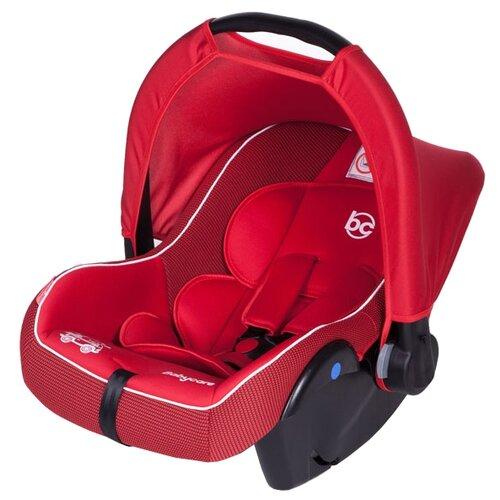 Автокресло-переноска группа 0+ (до 13 кг) Baby Care Lora, red автокресло группа 1 2 3 9 36 кг little car ally с перфорацией черный