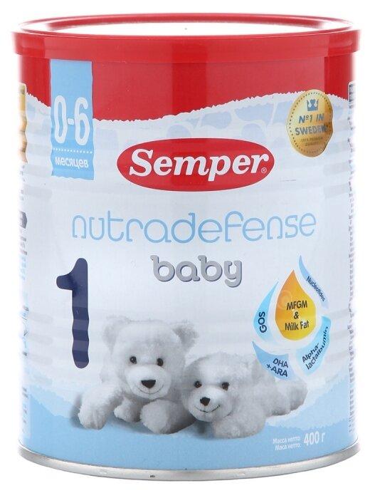 Смесь Semper Baby Nutradefense 1 (0-6 месяцев) 400 г