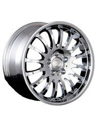 Колесный диск Racing Wheels BZ-24 8.5x20 5x120 ET35 72.6 Chrome - фото 1