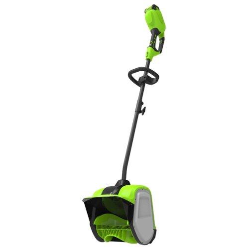 Снегоуборщик аккумуляторный greenworks G40SS30 2600807 без аккумулятора