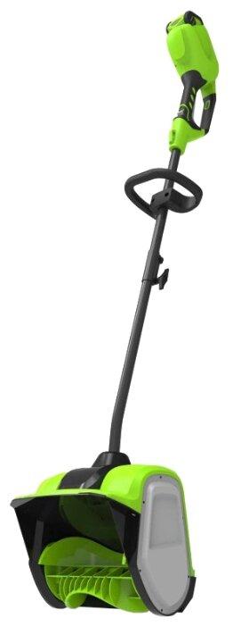 Снегоуборщик greenworks G40SS30 2600807UB с аккумуляторoм 4 А.ч и зарядным устройством