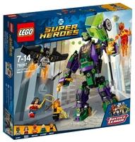 Конструктор LEGO DC Super Heroes 76097 Сражение с роботом Лекса Лютора