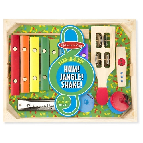 Melissa & Doug набор инструментов Band-in-a-Box 1318M