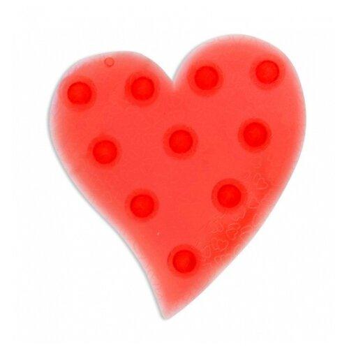 Коврик для ванной Valiant Сердце красный valiant мини коврик для ванной комнаты слоник на присосках 4 шт