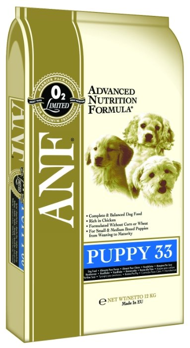Корм для собак ANF Canine Puppy 33