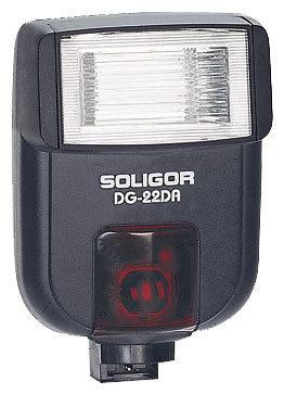 Вспышка Soligor DG-22DA for Canon