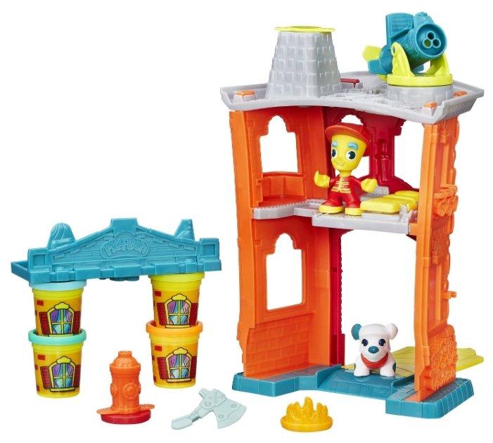 Play-Doh Набор для лепки Пожарная станция