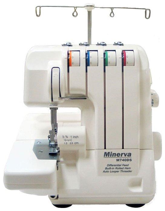 Оверлок Minerva M740DS