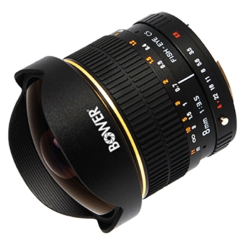 Объектив Bower 8mm f/3.5 Canon EF Объективы