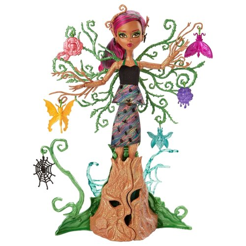 Фото - Кукла Monster High Цветочные монстряшки Триза Торнвиллоу, 37 см, FCV59 mattel monster high кукла призрачно clawdeen wolf