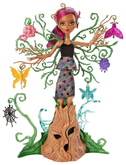 Кукла Monster High Цветочные монстряшки Триза Торнвиллоу, 37 см, FCV59